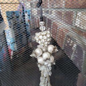 Faux Pearl Wall Hangings